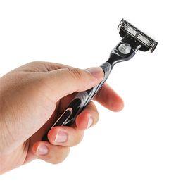Hot Sale Advanced Men 3 Layer Blades Shaving Razor Blade Refills Tools 20pcs lot + 1 Razor Blade Handle from manual tablet manufacturers