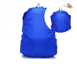 hiking cycling UK - 100Pcs Waterproof rain cover for Travel Camping Hiking Outdoor Cycling School Backpack Luggage Bag Dust Rain Cover