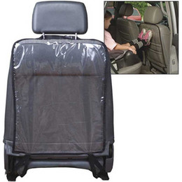 One Piece Car Auto Seat Back Protector Cover For Children Kick Mud Clean Black 58*44cm Hot Sale on Sale