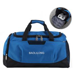03e7ce47f2c Men Sport Bag Large Gym Bag Women Fitness Crossbody Bags Travel Duffel  Outdoor Waterproof Luggage Shoulder Handbag Tote XA153WA