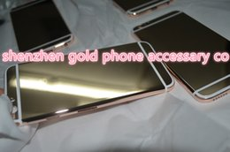 "$enCountryForm.capitalKeyWord Australia - 2018 hot sale real gold back for iphone6 4""7 24kt 24ct Limited Edition Golden Back Cover Back Housing for iphone6"