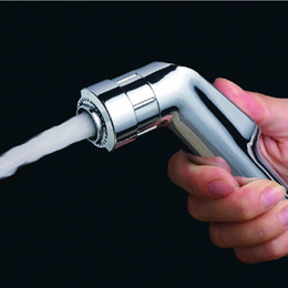 $enCountryForm.capitalKeyWord Australia - Double Mode Sprayer ABS hand held toilet bidet shattaf spray factory sale toilet shower free shipping