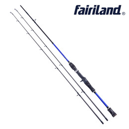 Wholesale Fairiland 1.83 1.98 2.1m M power carbon baitcasting rod 2 SEC fishing rod lure fishing pole bait casting fishing tackle