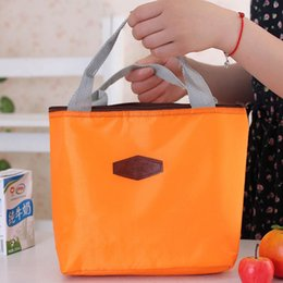 Discount lunch bags for kids - Waterproof Bag for Women kids Cooler Mommy Bag Tote canvas for lunch Insulation Package Portable