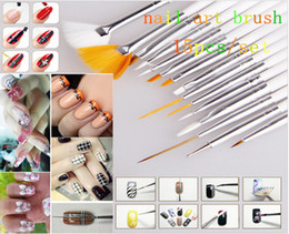 Chinese  Magic Style 15pcs nail paiting brush pen nail polish brush kolinsky acrylic brushes for manicure manufacturers
