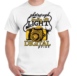 orange photography 2018 - Photograph Drawing With Light Mens Funny T-Shirt Photography Photographer CameraFunny free shipping Unisex Casual tshirt
