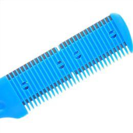 Comb blade sCissor online shopping - Hot Barber Scissor Hair Cut Style Razor Magic Blade Comb Haircut Tool Fine