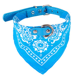 Dog Collar Supplies Wholesaler UK - Wholesale Fashion Dog Triangle Scarf Collars Pet Cat Puppy Collars Fashion Dog Necklaces Pet Supplies From China With Good quality And Price