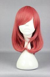Maki nishikino cosplay online shopping - love live Nishikino Maki High Quality Red Medium Anime Fashion Cosplay Wig