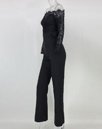 $enCountryForm.capitalKeyWord Australia - Gogoboi Women Clubwear Playsuit Casual Long Sleeve Party Jumpsuit Romper Trousers Pants NEW Dropshipping black and white