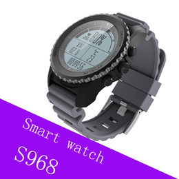 $enCountryForm.capitalKeyWord Australia - S968 GPS Smart Watch Disc watch IP68 Waterproof Smartwatch Heart Rate Monitor Barometer Thermometer Altimeter Round Watch Sports
