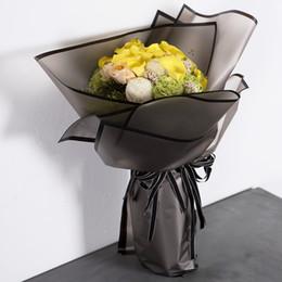 Confezione regalo 20 fogli / lotto Carta per imballaggio a fiori Materiale per imballaggio a mano Carta Bouquet Fiorista Forniture Festival Carta da regalo