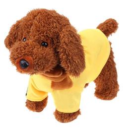 $enCountryForm.capitalKeyWord Australia - Cute Electronic Pet Toys Walking Singing Electronic Plush Dog Baby Toys Birthday Gift Pet for Children Christmas Gifts