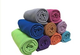 China Ice Cold Towels Double Layer Cool Ice Towel Summer Sunstroke Sports Yoga Exercise Cool Quick Dry Soft Breathable Hand Towels Hot Popular supplier hair exercise suppliers