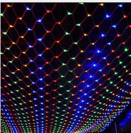 $enCountryForm.capitalKeyWord Australia - LED Christmas Wedding party lights outdoor waterproof Net String Lights 2m*3m garland wedding decoration fairy Lights