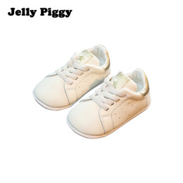 Wholesale Jelly Piggy Easy Slip ons loafers manufacturers new baby kids shoes leather elastic band Easy Close shoes solid color Flats