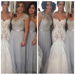 38f9bcd1516 One shOulder dresses tOp cOlOr online shopping - Formal Long Lace Appliques  Top A Line Bridesmaids