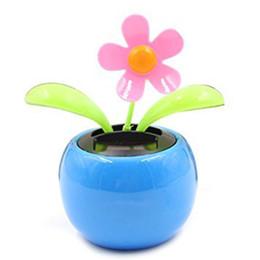 085fbc785dd697 SPF-05 Solar Power Dancing Toy Apple Flower Blue