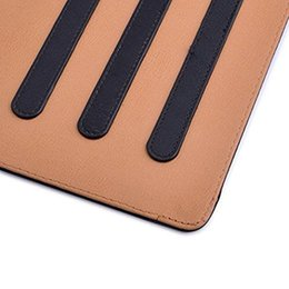 China Wallet Leather Australia - Tan Leather Wallet Stand Flip Case Smart Cover for New iPad 2017 Air 2 3 4 5 6 7 Air Air2 Pro 10.5 9.7 inch Mini Mini2 Mini3 Mini4
