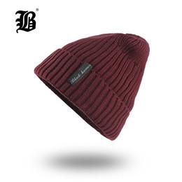 $enCountryForm.capitalKeyWord UK - [FLB] Winter Beanie Hat skullies beanies Soft Skull Warm Baggy Cap Mask Gorros Winter Hats For Men Women Knitted Hat F18006