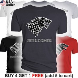 $enCountryForm.capitalKeyWord NZ - Details zu Game of Thrones T-Shirt House Stark Dire Wolf Men Winter is Coming Direwolf N442 Funny free shipping Unisex Casual gift