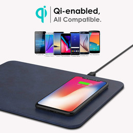 Apple mouse pAds online shopping - Wireless Mouse Pad Charger in Mouse Pad Mat With Wireless Charger for iPhone X Samsung S9 S8 LG