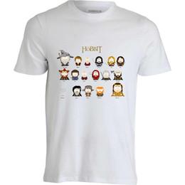 $enCountryForm.capitalKeyWord Australia - South Park Hobbit Characters Gandalf Bilbo Gollum men's white t shirt top