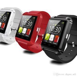 $enCountryForm.capitalKeyWord UK - Ce Rohs Silicone Strap Smart Watch U8 Wristwatch Cheap Support Bluetooth Speaker Android Mobile Phone Watch U8 2017