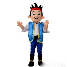China Discount factory sale Jack boy Mascot Costumes Cartoon Character Adult Sz Real Picture cheap japanese picture suppliers