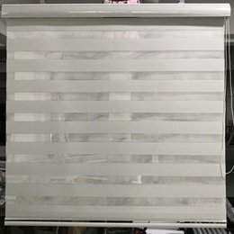 $enCountryForm.capitalKeyWord Canada - Zebra Blinds Window Shades Double layer Roller Blinds Waterproof Grey Sunscreen Vinyl Custom Cut to Size Curtains