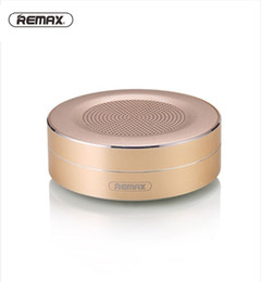 Hd Audio Pc Australia - Remax RB-M13 Portable Bluetooth Speaker 4.0 Wireless Speaker HD Sound Mini Round Box Speaker For Phones PC With Retail Box