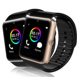 GT08 Bluetooth Smart Watch with SIM Card Slot and NFC Health Watchs for Android Samsung and IOS Apple iphone Smartphone Bracelet Smartwatch from women watches cheap price manufacturers