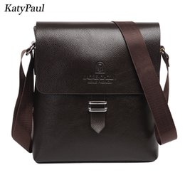 Messenger Bags For Men Leather Canada - 2017 Famous Brand Men Pu Leather Briefcase Men Messenger Bags High Quality Business Small Shoulder Bag For Men Crossbody Bags