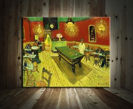 $enCountryForm.capitalKeyWord NZ - Van Gogh Night cafe Time,Modern Abstract Canvas Oil Painting Print Wall Art Decor for Living Room Home Decoration
