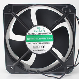Free Cooling Fan Australia - Free Shipping LX-FAN AFB2006022H 20060 220V AC axial Cooling fan 200 * 200 * 60MM