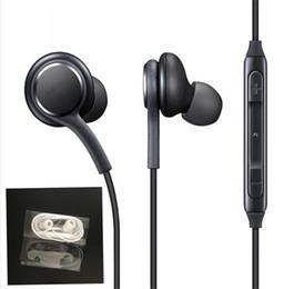 2018 neue S8 Headset echte schwarze In-Ear-Kopfhörer EO-IG955BSEGWW Kopfhörer-Freisprecheinrichtung für Samsung Galaxy S8 S8 plus OEM-Ohrhörer