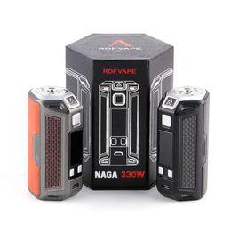 $enCountryForm.capitalKeyWord Australia - Original ROFVAPE Naga 330W Vape Box Mod Max Huge Power E-Cig Vape Box Mod for 510 Thread Output 300W No 18650 Battery