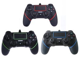 Wireless Usb Game Controller NZ - 2018 New PS4 USB Wired Controllers Gamepads for PS4 Game Controller Vibration Wired Joystick for PlayStation 4 Console Gamers Not Wireless