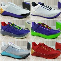 eb2e122d0453 Cheap brand Kobe 12 XII Ad Black Gold Women Basketball Shoes Cheap Purple  Red White Gray Blue Kobe 12s Elite Low Sport Sneakers