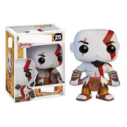 cheap gift boxes wholesale NZ - Cheap price New arrival xmas gift Funko War Kratos Vinyl Action Figure With Box Gift Toy Good Quality