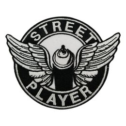 $enCountryForm.capitalKeyWord UK - STREET PLAYER Embroidered Twill Patch Cartoon Iron On Patches Kids DIY Cute Sewing Embroidered Patches For Clothing
