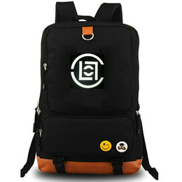 nice pack NZ - Clot family backpack Edison Chen daypack Badge nice schoolbag Casual style rucksack Sport school bag Outdoor day pack