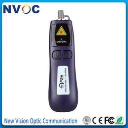 Wholesale Grandway nm Visual Fault Locator mw Fiber Optic Cable Tester nm VLS Series Mini Fiber Optical Laser Source