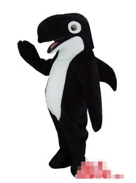 Wholesale adult shark costume resale online - Custom Newly designed shark mascot costume Adult Size