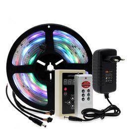 $enCountryForm.capitalKeyWord UK - 6803 IC Dream Color RGB LED Strip 5050 30LED m IP67 Waterproof 5M + 133 Program RF Magic Controller + Adapter
