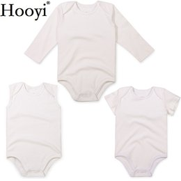 9ff02b91f White Newborn Bodysuit 3 6 9 12 18 24 Month Baby Girls Clothes Jumpsuit  Clothing Unisex Cotton Babies Boys Shirts Tank Tops Romper