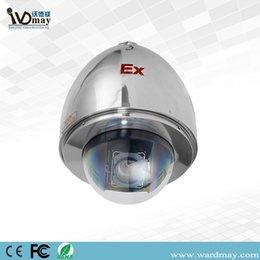 Взрывозащищенная камера слежения CCTV купола PTZ Starlight сигнала 20X высокоскоростная для морского пехотинца, бензоколонки, Банка