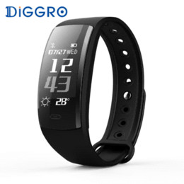 $enCountryForm.capitalKeyWord Canada - Diggro QS90 Smart Bracelet Heart Rate Monitor Smart Band Blood Pressure GPS Track IP67 Waterproof Wristband For IOS Android