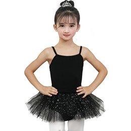 $enCountryForm.capitalKeyWord Australia - Girls Ballerina Fairy Prom Party Costume Sequined Star Ballet Dance Wear Dress Beautiful Gymnastic Leotard Tutu Dress