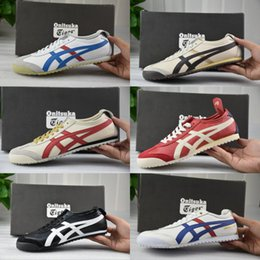 Asics running shoes for womAn online shopping - Whosale Best Asics Onitsuka Tiger Running Shoes For men women Top Quality Cheap Lightweight Online Sport Sneakers Eur